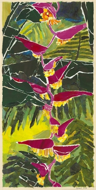 , 'Hanging Pink Heliconia,' 2016, Tiffany's Art Agency