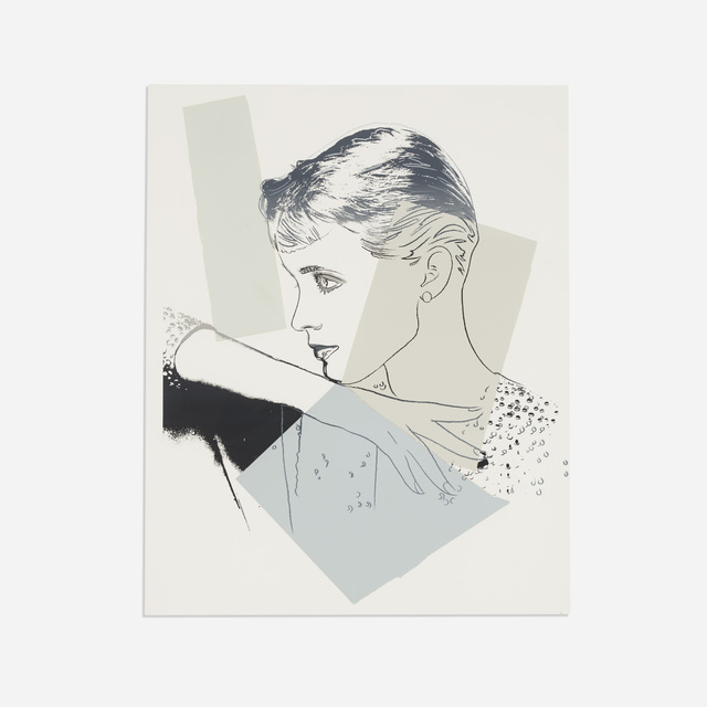 Andy Warhol, 'Untitled', c. 1982, Drawing, Collage or other Work on Paper, Screenprint and collage on paper, Rago/Wright