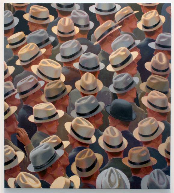 Greg Drasler, 'Nail Biter II', 2009, Painting, Oil on canvas, Betty Cuningham
