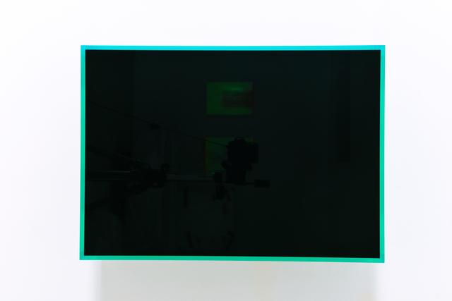 , 'colormirror black green bonn,' 2019, Galerie Judith Andreae