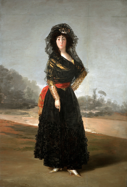 , 'The Duchess of Alba,' 1797, The National Gallery, London