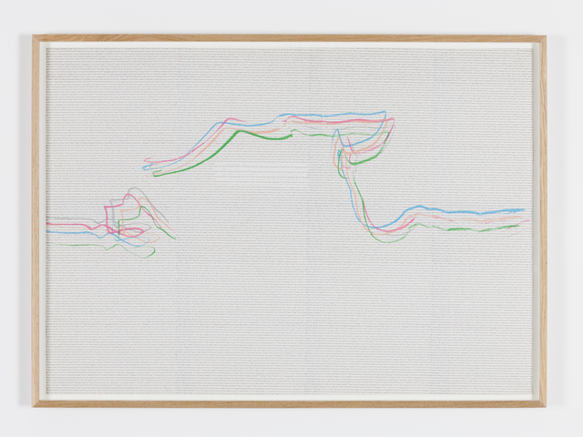 , 'A.T.C.G. drawing 1,' 1994, Tatjana Pieters