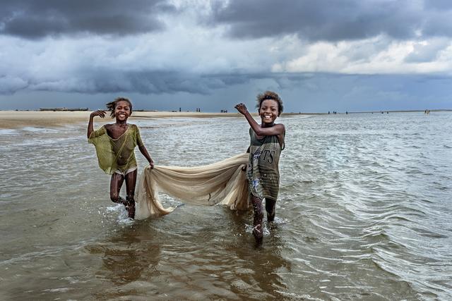 , 'Fishing Girls,' , Paul Nicklen Gallery