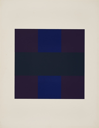 # 6 from 10 Screenprints by Ad Reinhardt