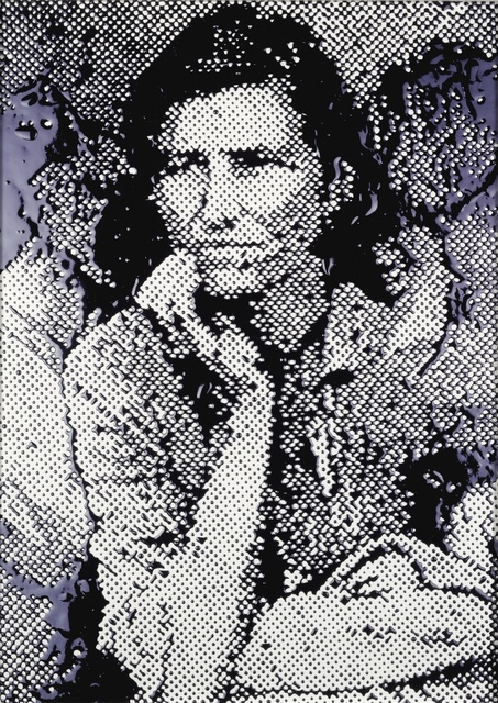 Vik Muniz, ''Migrant Mother' (after Dorothea Lange, from Pictures of Ink)', 2000, Sotheby's