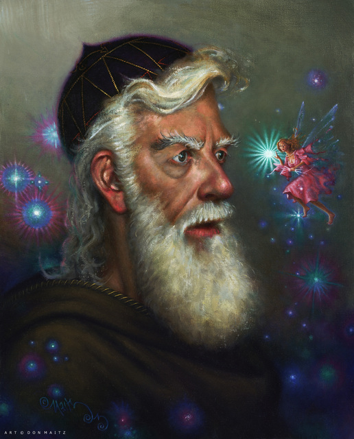 Don Maitz, 'A Mused Wizard', 2004, IX Gallery