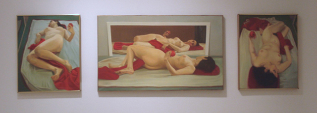, 'Nude Triptych,' 1971, Walter Wickiser Gallery