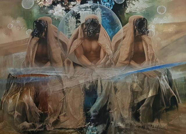 , 'Wisdom Trinity,' , Winn Slavin Fine Art