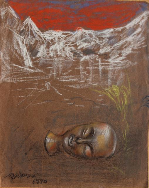Pei Zhuangxin, 'Sketch ⼿稿《雪⼭的夢》', 1990, W.Ming Art