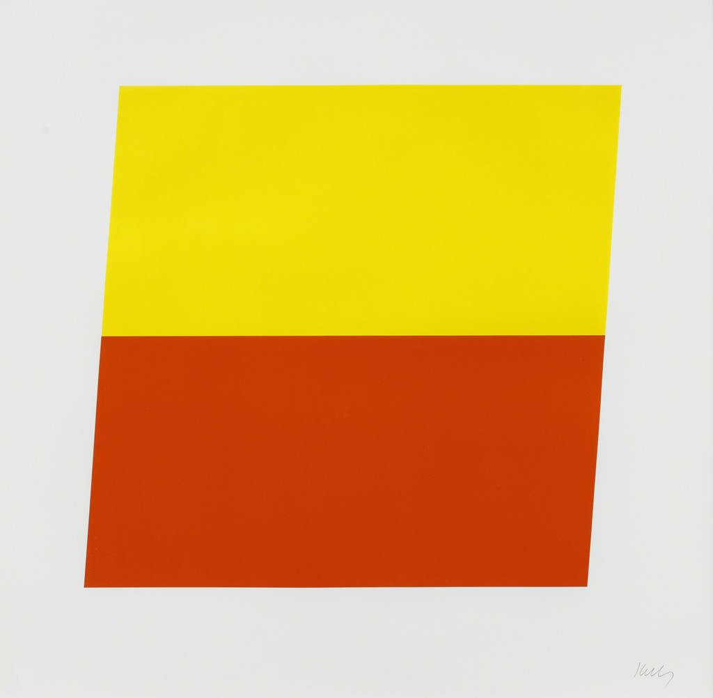 Ellsworth Kelly   Yellow/Red-Orange (1970)   Available for Sale   Artsy