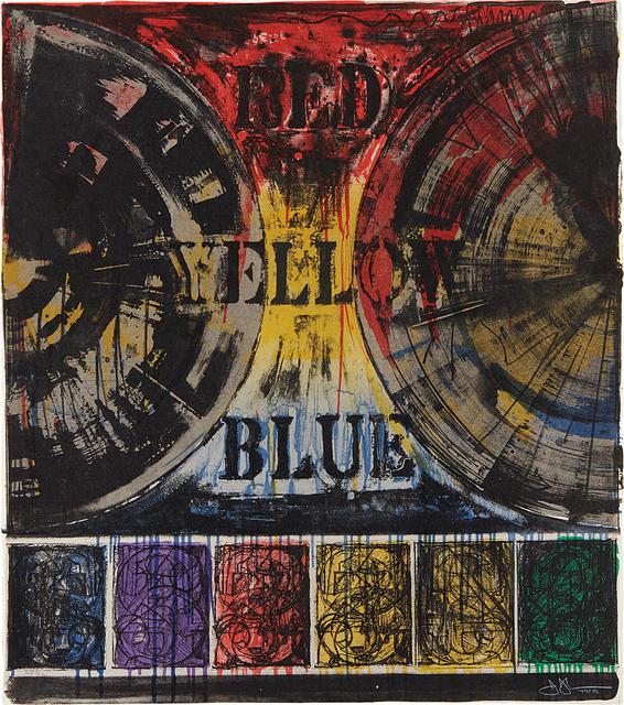Jasper Johns, 'Untitled', 1980, Phillips
