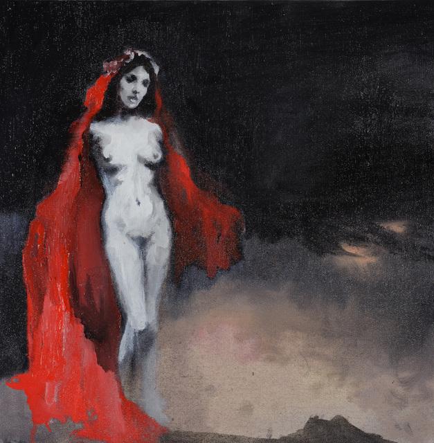 Paz Corona, 'Néro 4', 2016, Galerie Les filles du calvaire