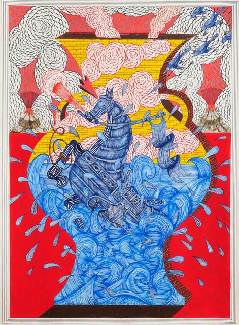 , 'Emergency Life Vessel,' 2017, Hosfelt Gallery