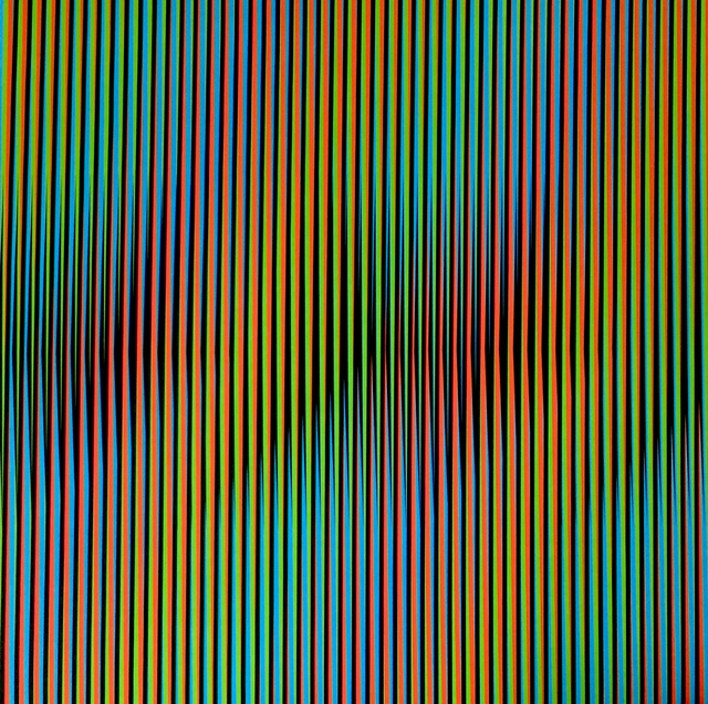 , 'Induction Chromatique a Double Fréquence RGB Serie Semana - Viernes,' 2013, Marion Gallery