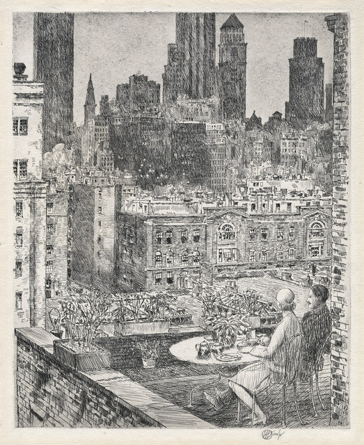 , 'New York Spring, 1931.,' 1931, The Old Print Shop, Inc.