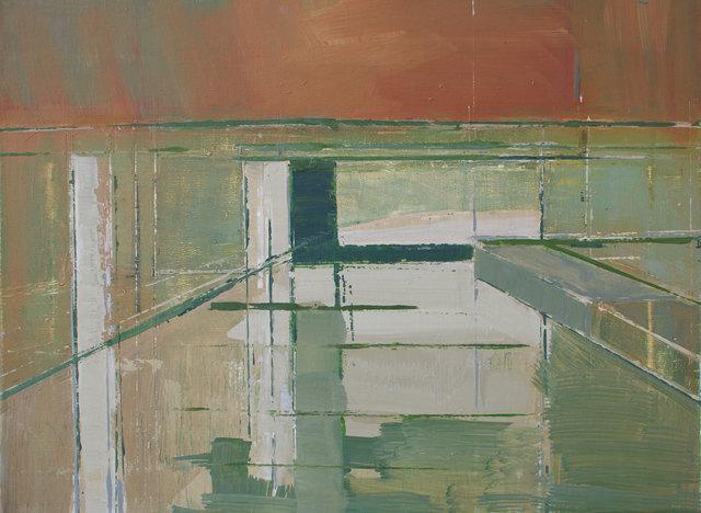 , 'Regent's Canal – green,' 2014, Albemarle Gallery | Pontone Gallery