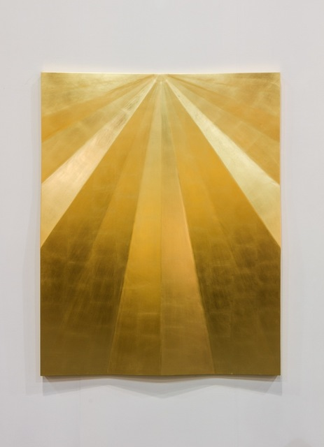 , 'Unfolded gold,' 2015, Travesia Cuatro