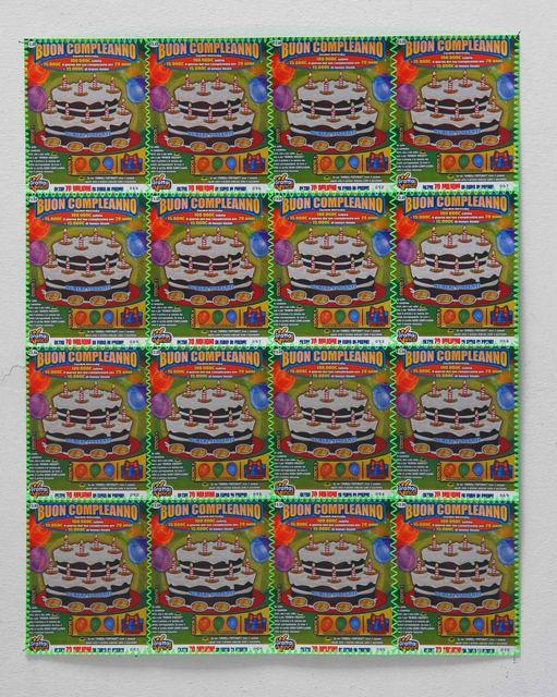, 'Buon compleanno,' 2011, Studio SALES di Norberto Ruggeri
