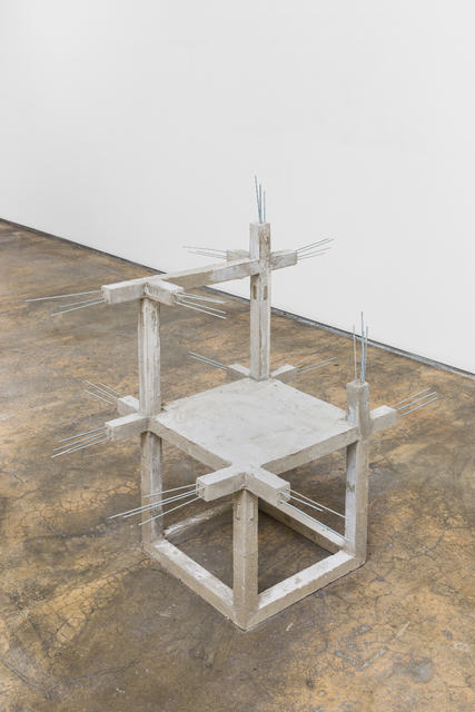 , 'Unfinished concrete chair #12,' 2015, Baginski, Galeria/Projectos