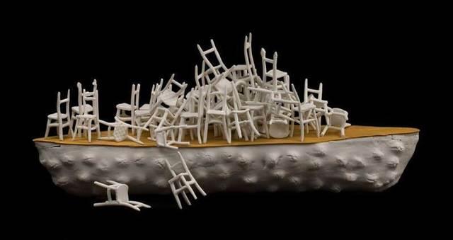 , 'Things Fall Apart,' 2016, International Sculpture Center
