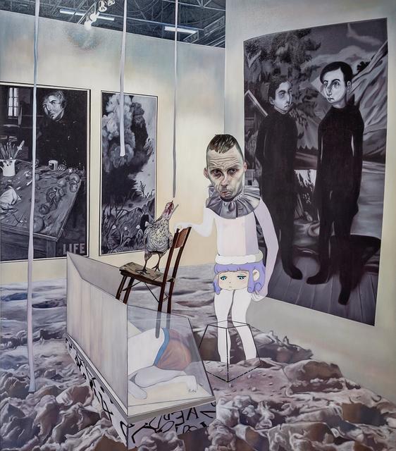 Carolina Muñoz, 'Desaparecer en el Espacio', 2019, Painting, Oil on canvas, Isabel Croxatto Galería