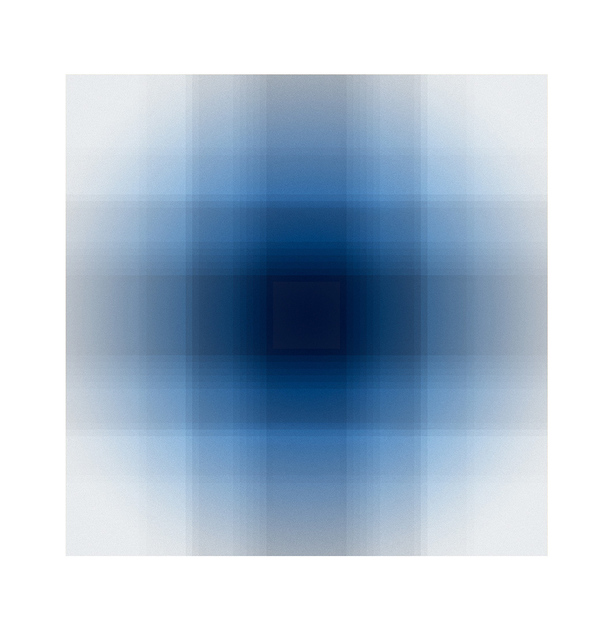 , 'Quadrille I,' 2015, Santa Fe Editions
