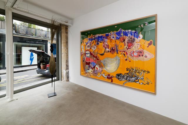 """, 'Exhibition view of """"Au jour d'Hui"""" ,' 2018, GALERIE GEORGES-PHILIPPE ET NATHALIE VALLOIS"""