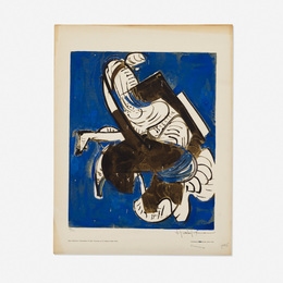 Hans Hofmann, 'Composition in Blue,' 1952, Wright: Prints + Multiples (January 2017)