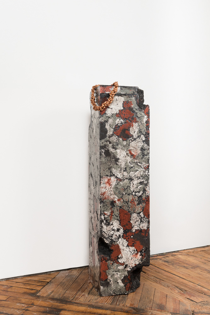 , 'Pedestal with Chain,' 2016, LMAKgallery