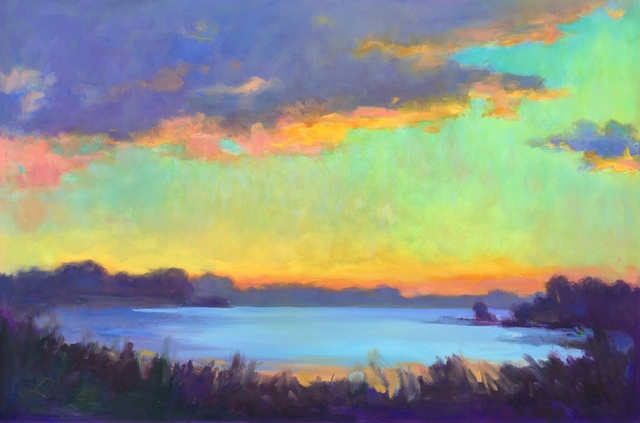Linda Richichi, 'Inlet Dawn', 2019, 530 Burns Gallery
