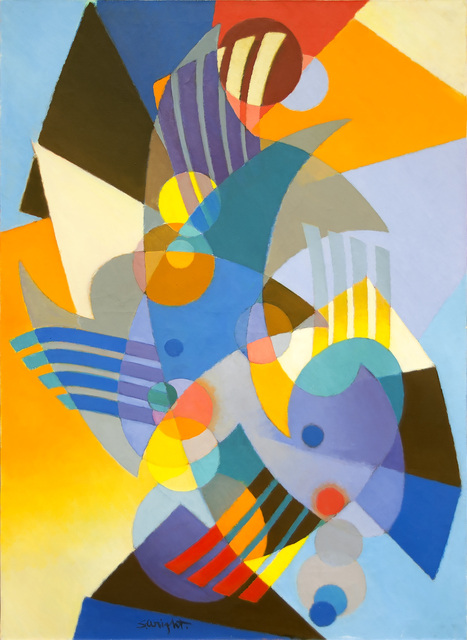 , 'La Gaite,' 1958, Heather James Fine Art