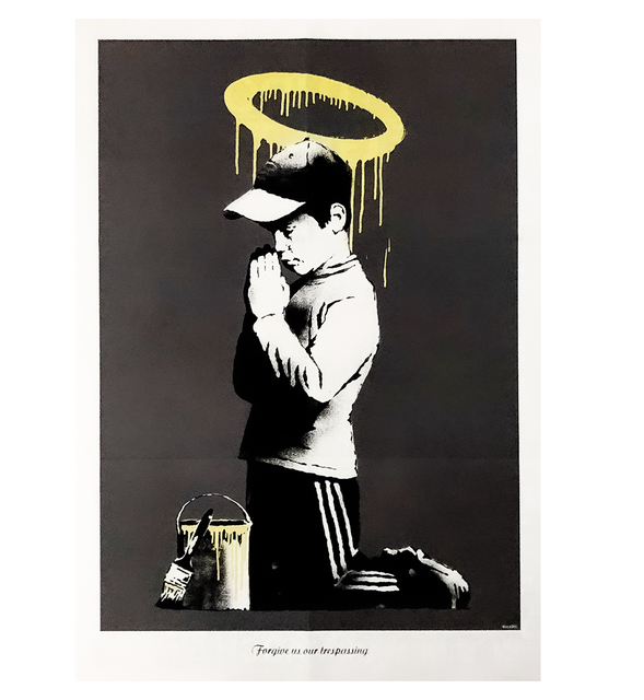 Banksy, 'FORGIVE US OUR TRESPASSING', 2010, Silverback Gallery