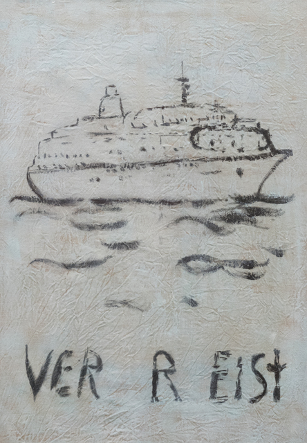 , 'o.T. (VER R EIST),' 2018, Ruttkowski;68