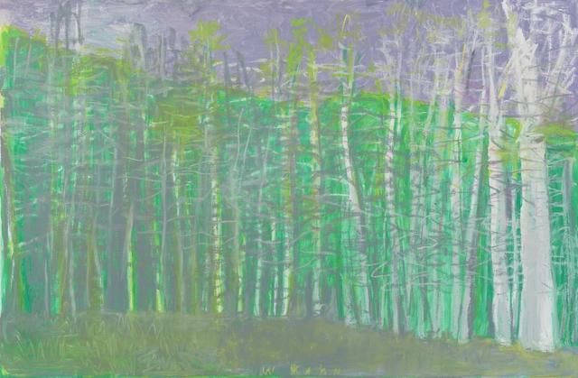 , 'Distant Green,' 2015, Galerie de Bellefeuille