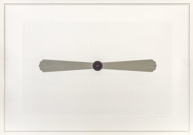 Gianni Piacentino, 'Vehicles-Sculptures. Wall-Sculptures', 1971, ArtRite
