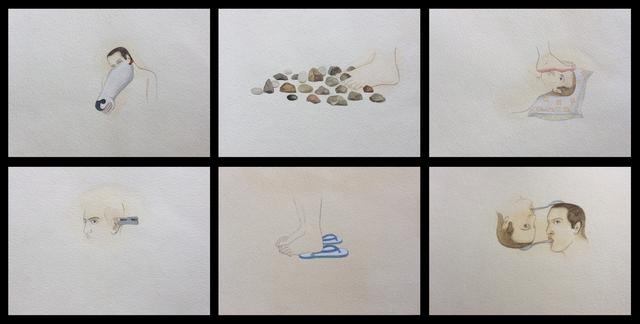 , 'Ritual Drawings,' 2014, Gallery Espace