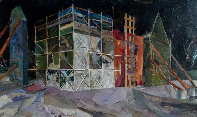 , 'Municipal Chambers at Night ,' 2017, Marloe Gallery
