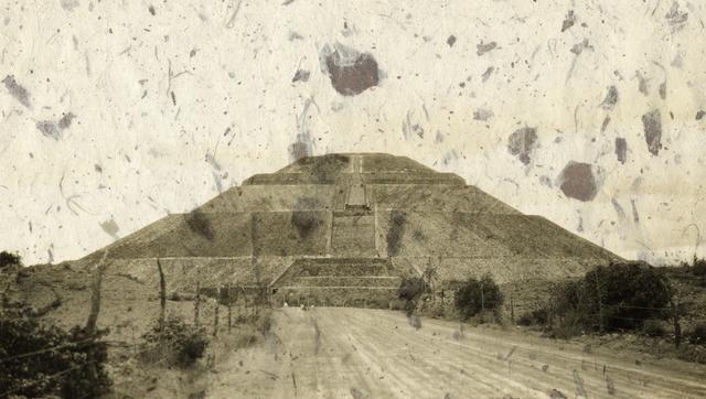 , 'Lluvia de piedras sobre Teotihuacán,' 2015, Patricia Conde Galería