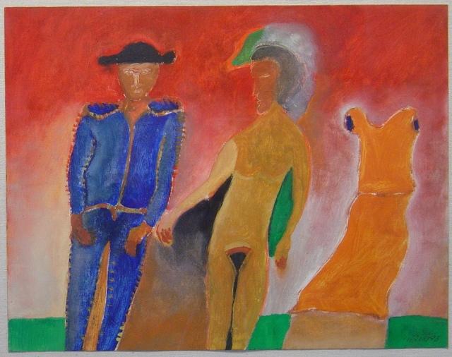 Jesus Urbieta, 'La mujer del Torero', 1993, Galeria Oscar Roman