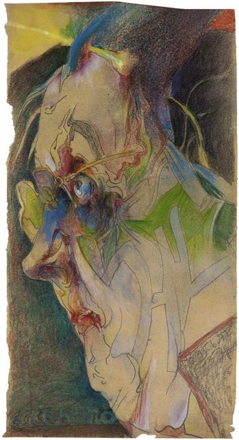 Horst Janssen, 'Selbst zu Paranoia Ecce Homo', 1982, Galerie Brockstedt