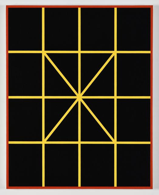 , 'Complex Diagonals,' 2017, Morgan Lehman Gallery