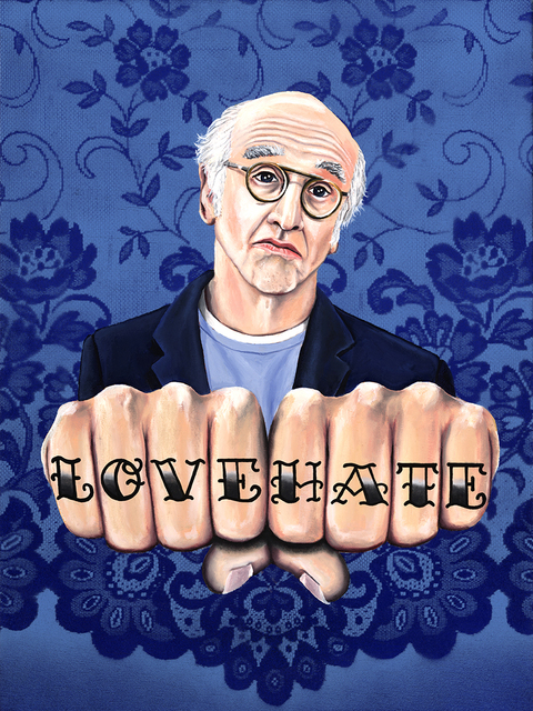 , 'Larry David LOVE HATE,' 2012-2019, {9} The Gallery