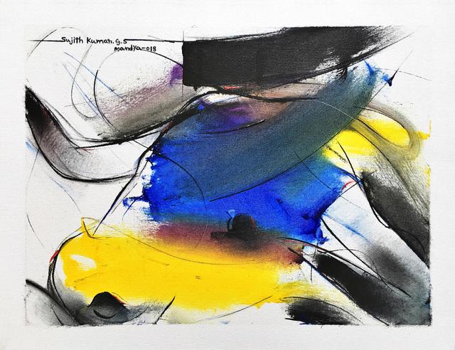Sujth Kumar G.S. Mandya, 'Bull Painting - 684', 2013, MayinArt