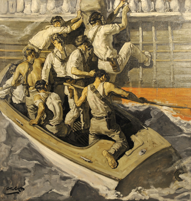 Edmund Franklin Ward, 'Pirates Boarding Ship', The Illustrated Gallery