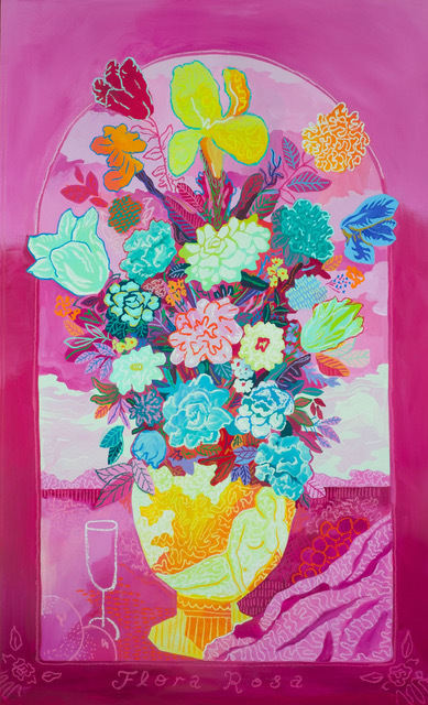 , 'Flora Rosa,' 2019, Rebecca Hossack Art Gallery