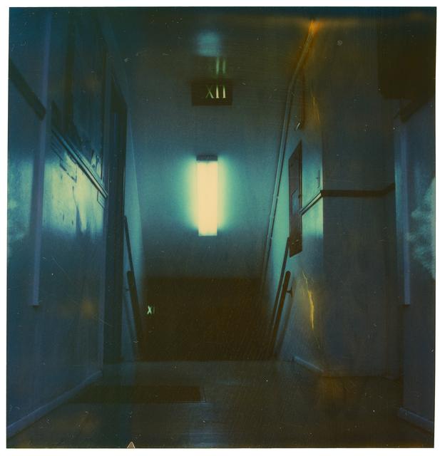 Stefanie Schneider, 'Stairway', 2004, Photography, Digital C-Print based on a Polaroid, not mounted, Instantdreams