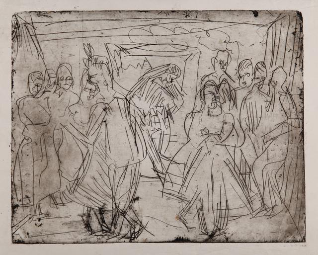 , 'Bauerntanz in der Sennhütte,' 1920, Henze & Ketterer