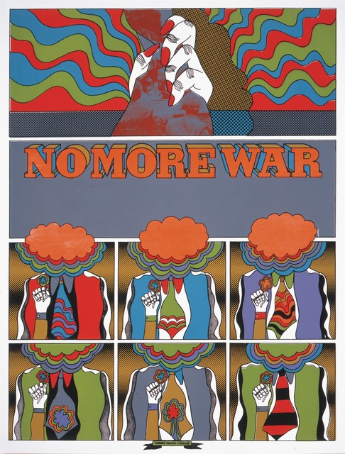 , 'NO MORE WAR_2,' 1967, Nanzuka