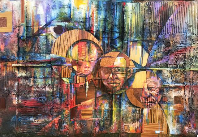 , 'Seasons (Three Axis of Life),' 4800, Art Village Gallery
