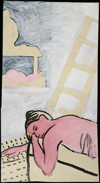 , 'Model in Studio with Ladder,' 1974, Anglim Gilbert Gallery